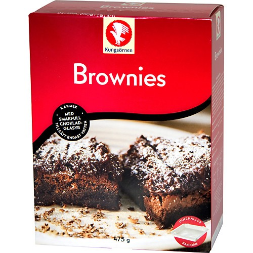 brownie mix sverige