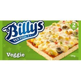 billys pizza kcal
